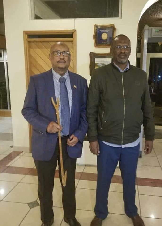 UCID Chairman, Faisal Ali Warabe met with Qalbi Dhagah in