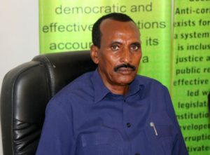 Director General at GGACC Mohamoud Ismail Elmi