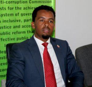 GGACC Chairman Dayib Aden Haji
