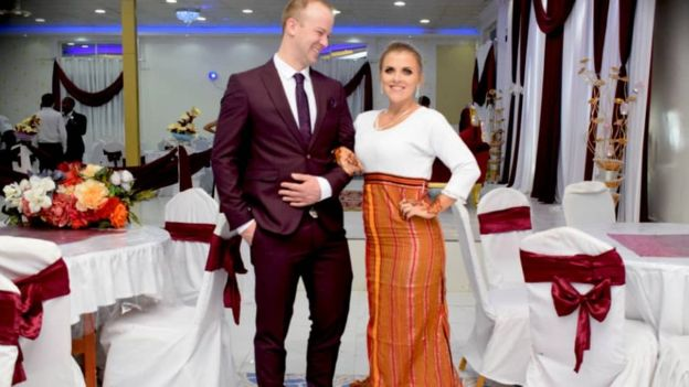 Canadian couple got married in Somaliland while bride wore