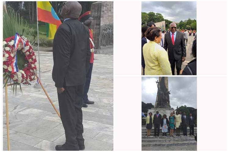 Cuban First Vice President Honors Ogaden War Martyrs