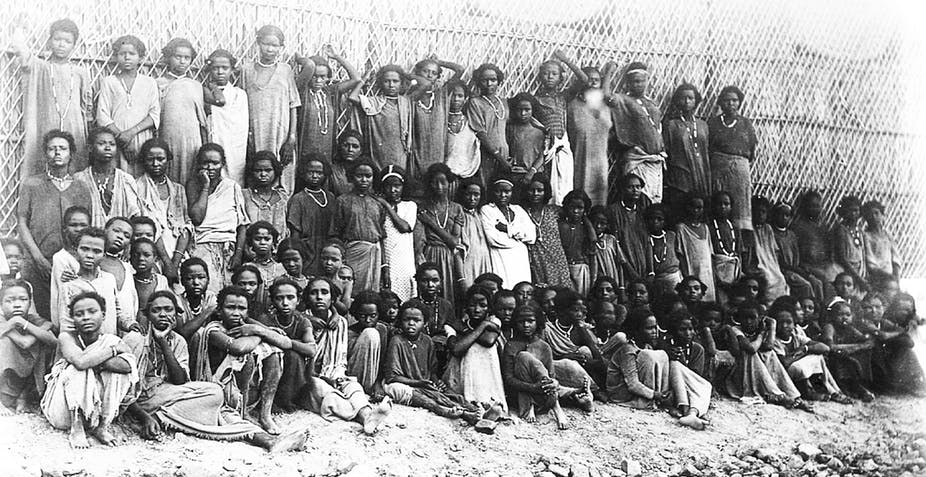 The story of Oromo slaves bound for Arabia who were brought to South